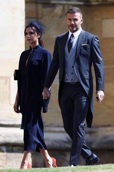David Beckhem na kráľovskej svadbe