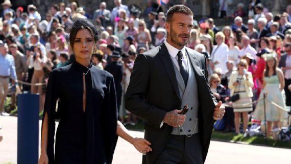 David Beckham na kráľovskej svadbe