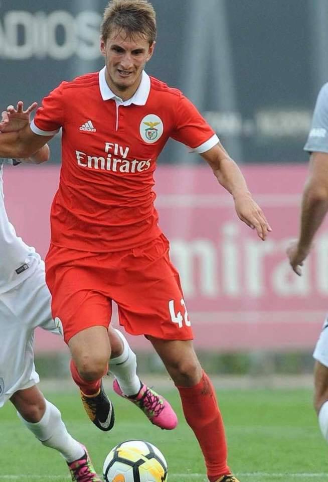 Martin Chrien Benfica