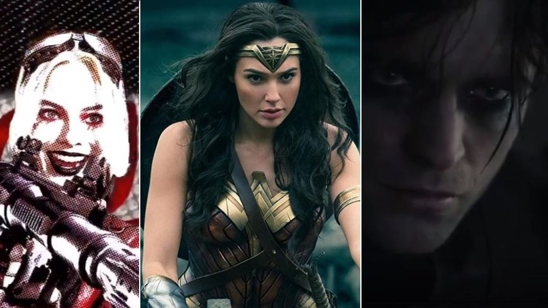 Harley Quinn, Wonder Woman, Batman